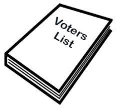 Voter List for 2016-17
